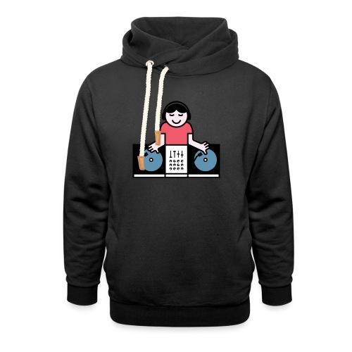 Vinyl DJ - Unisex sjaalkraag hoodie