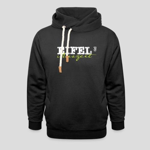 Eifel Auszeit - weiß - Schalkragen Hoodie