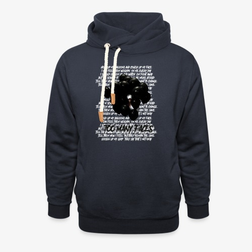 Too many faces (NF) - Unisex Shawl Collar Hoodie