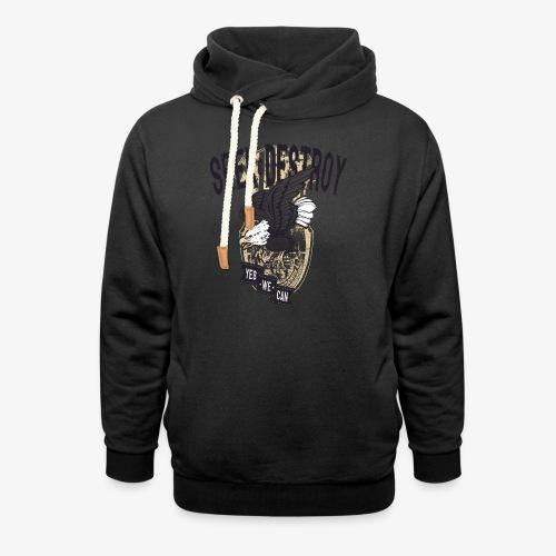 Seek Destroy - Shirts - Unisex Shawl Collar Hoodie