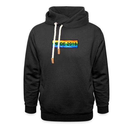 Pride 2018 long design - Shawl Collar Hoodie