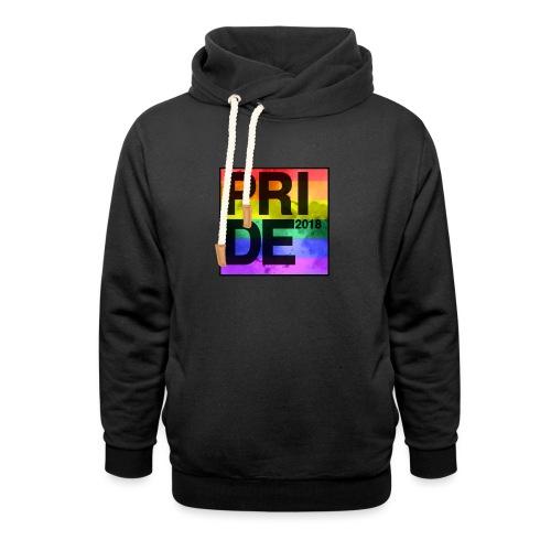 Pride 2018 Rainbow Block - Shawl Collar Hoodie