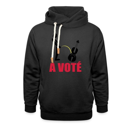 A voté - Sweat à capuche cache-cou