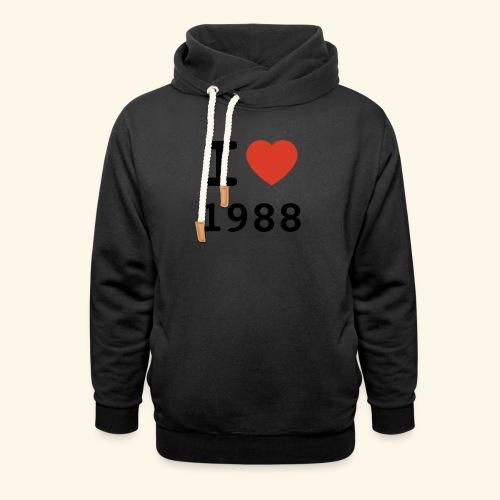 I Love 88 b 001 - Schalkragen Hoodie