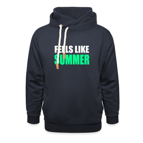 Feels like summer - Unisex Schalkragen Hoodie