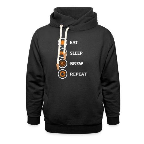 Eat Sleep Brew Repeat Brewers Gift - Shawl Collar Hoodie