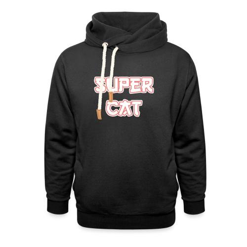 Super Cat - Schalkragen Hoodie