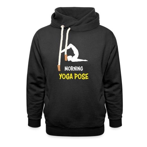 Morgentliche Yoga Pose Hingefallen Yoga Geschenk - Unisex Schalkragen Hoodie