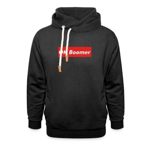 OK Boomer Meme - Unisex Shawl Collar Hoodie