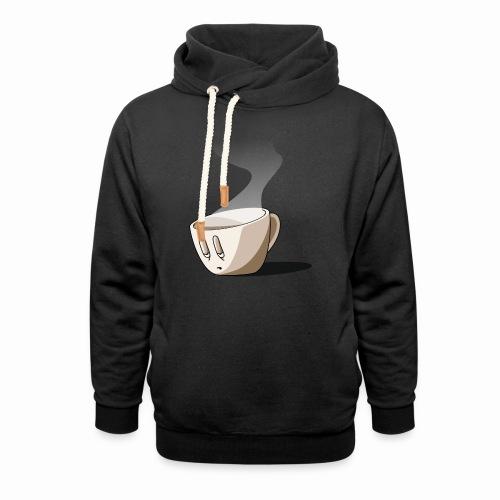 Coffee... - Sweat à capuche cache-cou