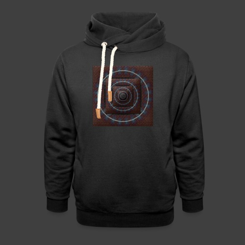Time Tunnel Brown - Shawl Collar Hoodie