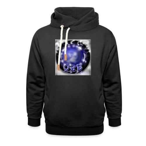 Hyperspace potato Blue Orb - Shawl Collar Hoodie