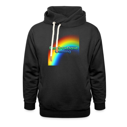 RainbowDave Gaming Logo - Shawl Collar Hoodie
