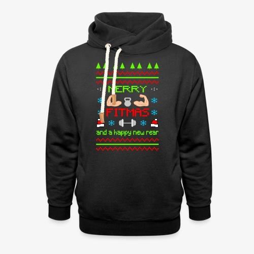 Merry Fitmas - Schalkragen Hoodie