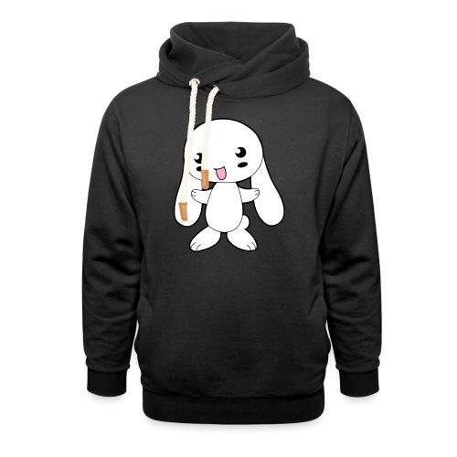 Kaninchen - Schalkragen Hoodie