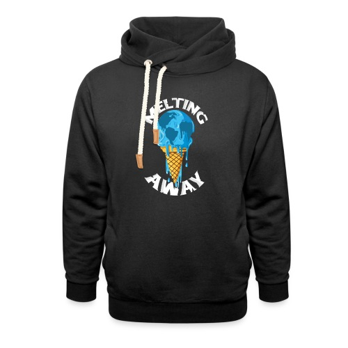 Our World Melting Away - Shawl Collar Hoodie