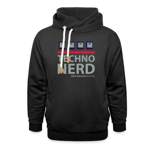 Techno Nerd - Unisex Shawl Collar Hoodie