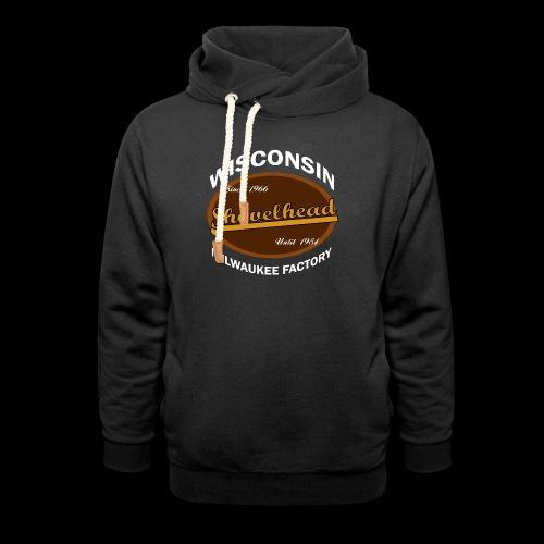 Milwaukee Shovelhead - Unisex Schalkragen Hoodie