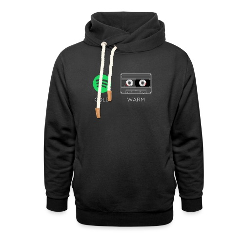 Spotify cold - warm cassette - Shawl Collar Hoodie