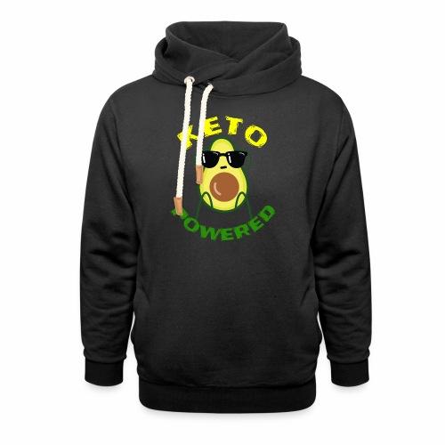 Keto powered - Keto Low Carb T-Shirt - Schalkragen Hoodie