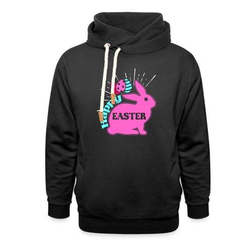 Happy Easter - Frohe Ostern - Unisex Schalkragen Hoodie