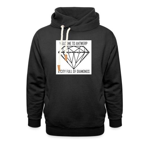 Antwerp lover - Unisex sjaalkraag hoodie