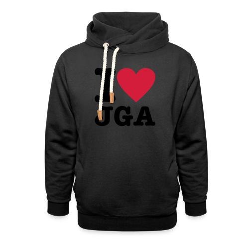 I love JGA - Schalkragen Hoodie