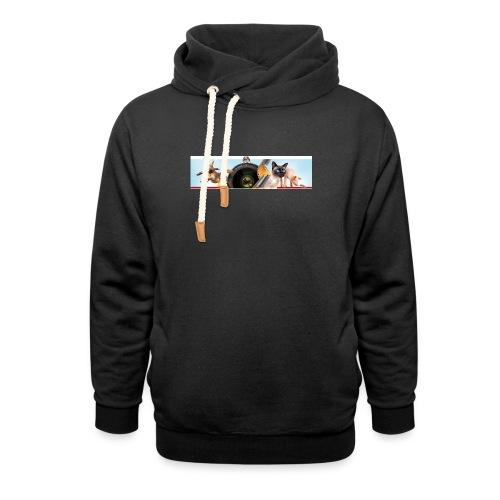 Animaux logo - Sjaalkraag hoodie