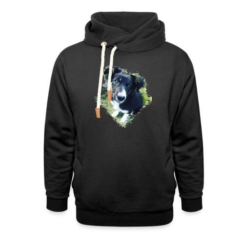colliegermanshepherdpup - Shawl Collar Hoodie