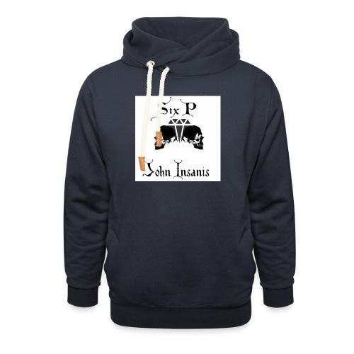 Six P & John Insanis New T-Paita - Unisex huivikaulus huppari