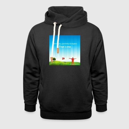 Rolling hills tshirt - Unisex hoodie med sjalskrave