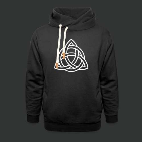 Celtic Knot — Celtic Circle - Shawl Collar Hoodie
