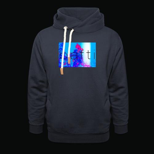 bafti lsd tee - Unisex hoodie med sjalskrave