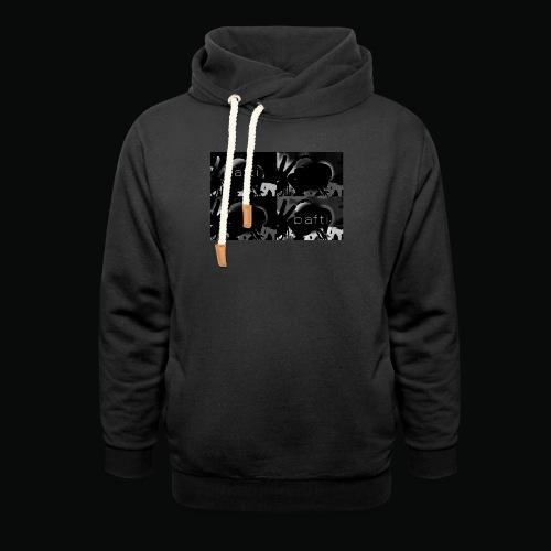 black bafti crew - Hoodie med sjalskrave