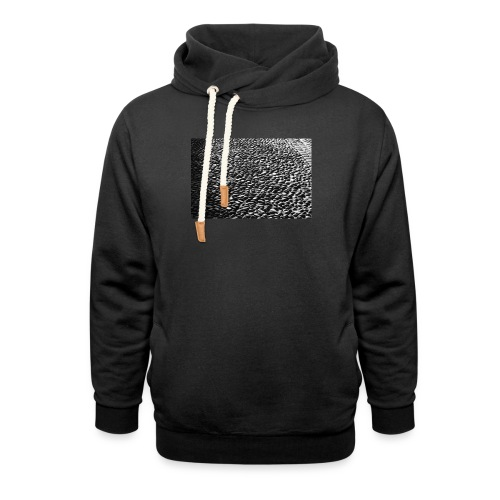 cobblestone shirt - Unisex sjaalkraag hoodie