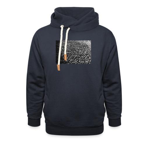 cobblestone shirt - Sjaalkraag hoodie