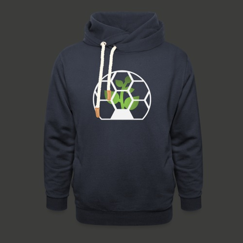 Biosphere Front - Unisex Shawl Collar Hoodie