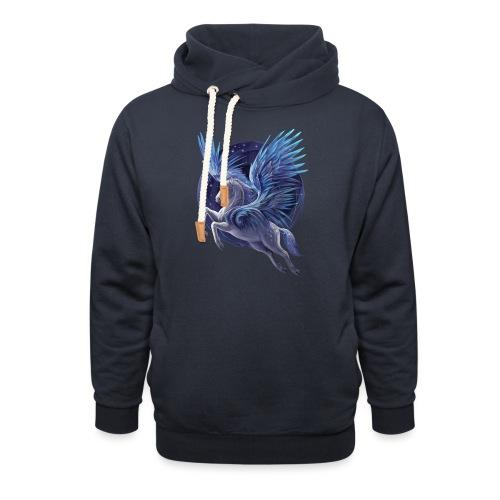 Pegasus - Unisex Schalkragen Hoodie