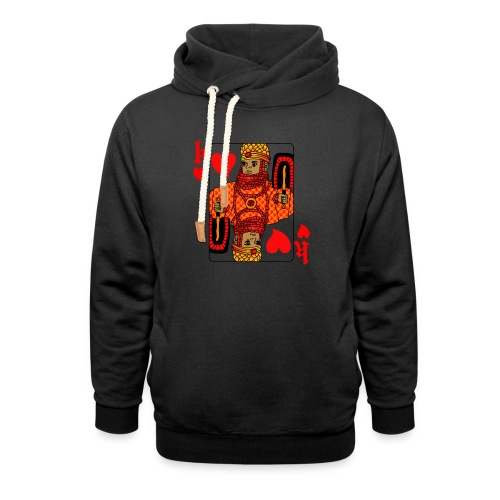 King of hearts - Shawl Collar Hoodie
