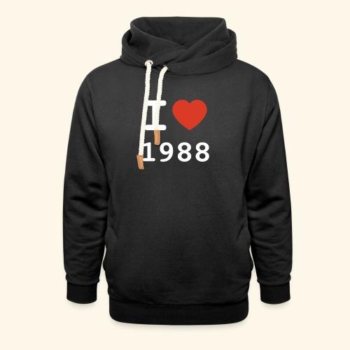 I Love 88 w p 001 - Schalkragen Hoodie