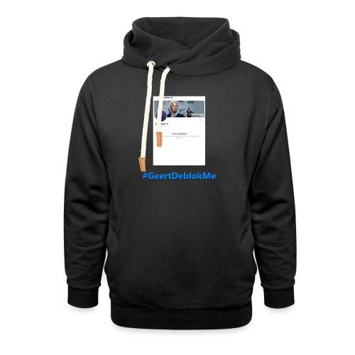 #GeertDeblokMe - Unisex sjaalkraag hoodie