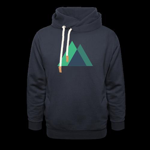Mountain Logo - Shawl Collar Hoodie