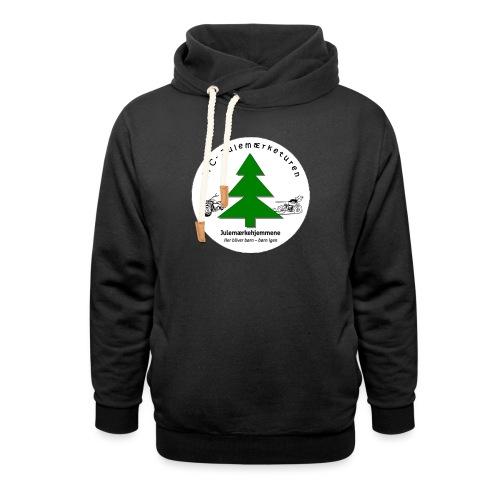 MCJul - Unisex hoodie med sjalskrave