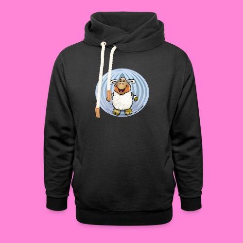 Halloween-sheep - Unisex sjaalkraag hoodie