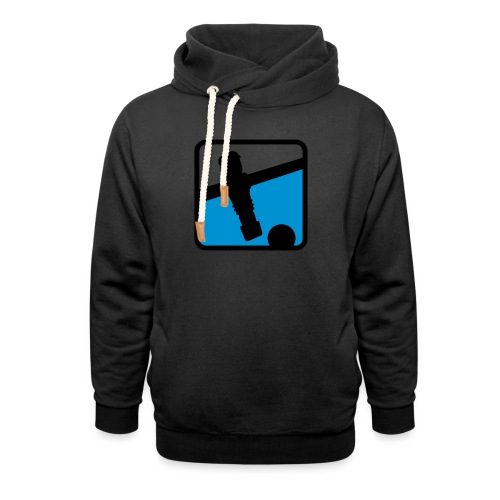 soccer player - Kickershirt - Schalkragen Hoodie