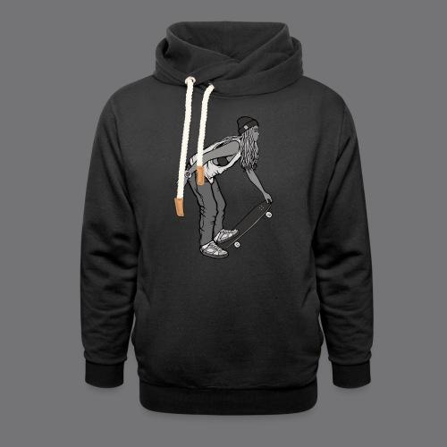 SKATEBOARDING Tee Shirt - Shawl Collar Hoodie