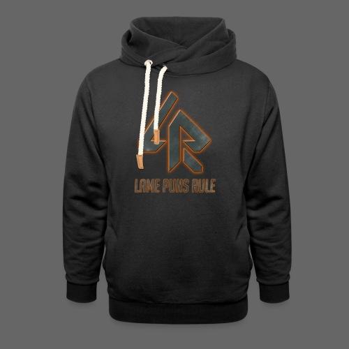 Lame Puns Rule: Logo - Shawl Collar Hoodie