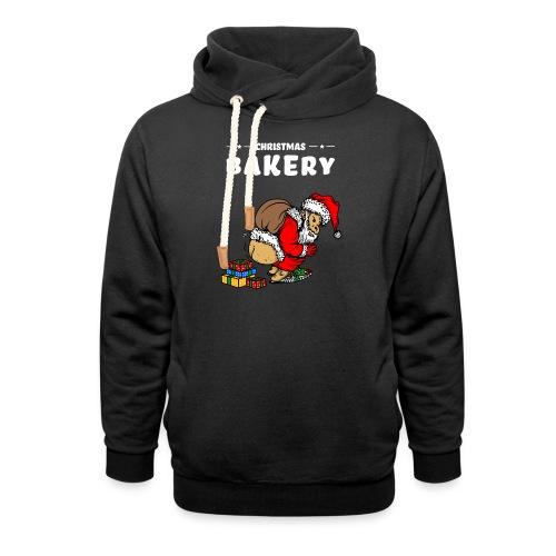Ugly Weihnachtsmann Weihnachten lustig Sprüche - Schalkragen Hoodie