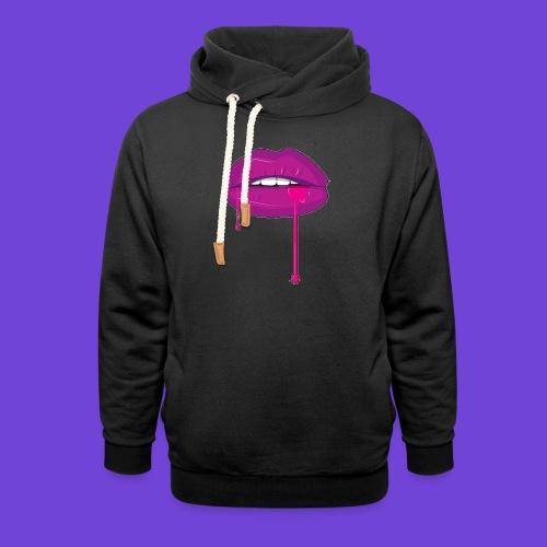 Purple Kiss - Felpa con colletto alto