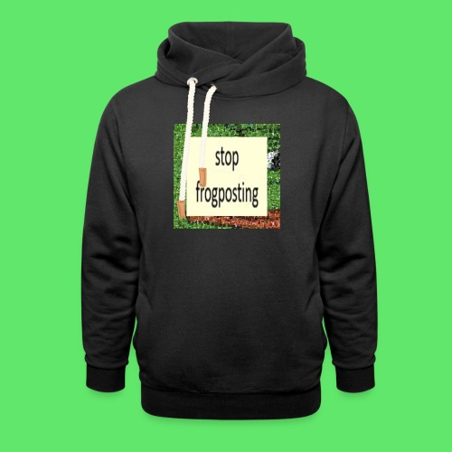 Frogposter - Unisex Shawl Collar Hoodie